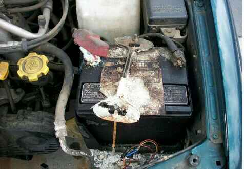 New car battery not charging