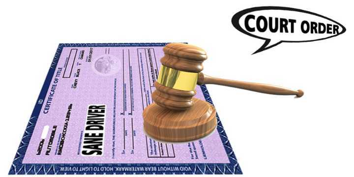 what is a court ordered title