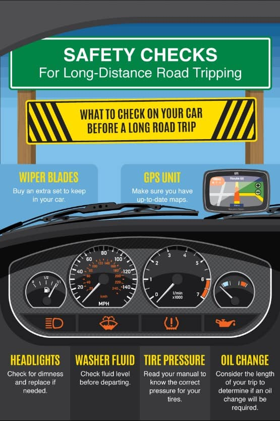 Long-Distance Road Trip Tips