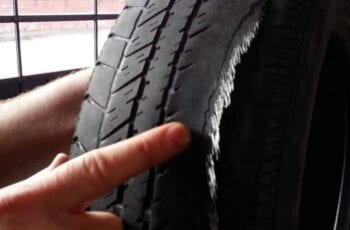 what causes tires to wear on the inside