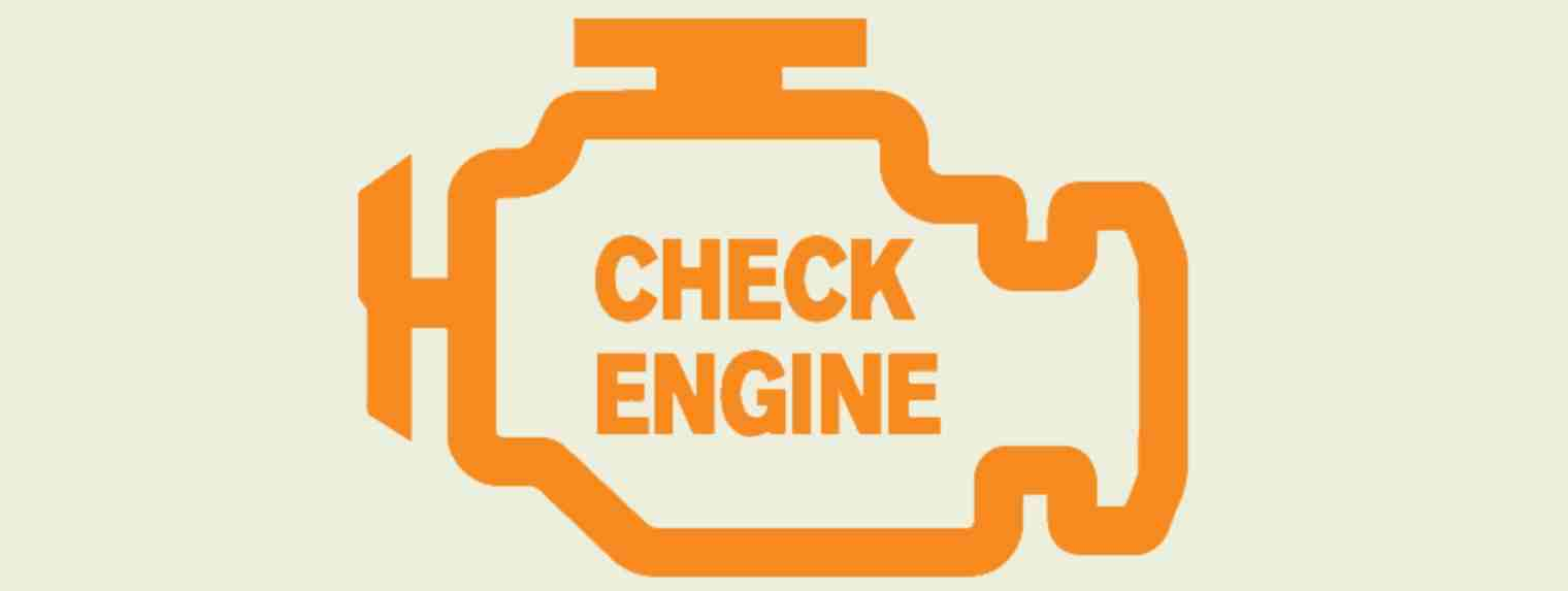 What is the most common reason for check engine light