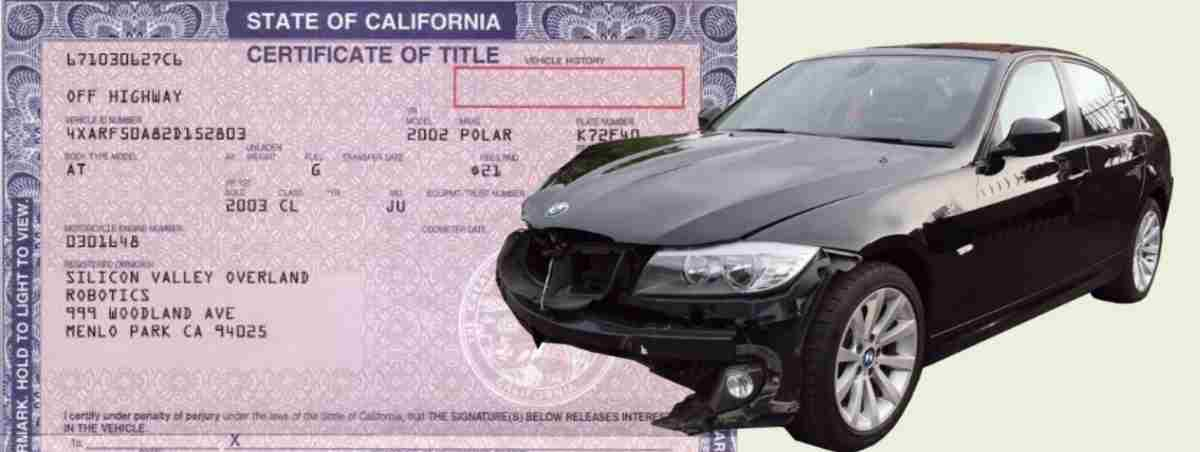 how to get a salvage title registered